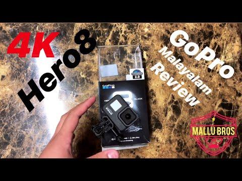 GoPro Hero 8 Black Malayalam Review Unboxing And Setup | 4K #GoProHero8