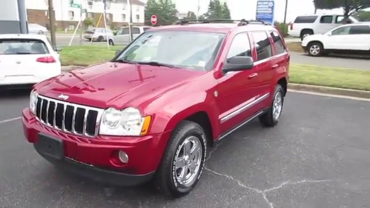 2006 Jeep Grand Cherokee Limited 5.7 Walkaround, Start Up, Tour And  Overview   YouTube