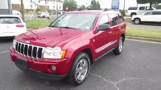 2006 Jeep Grand Cherokee Limited 5.7 Walkaround, Start up, Tour and Overview