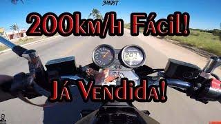 Bandit 650N, 200km/h fácil, Moto a Venda!