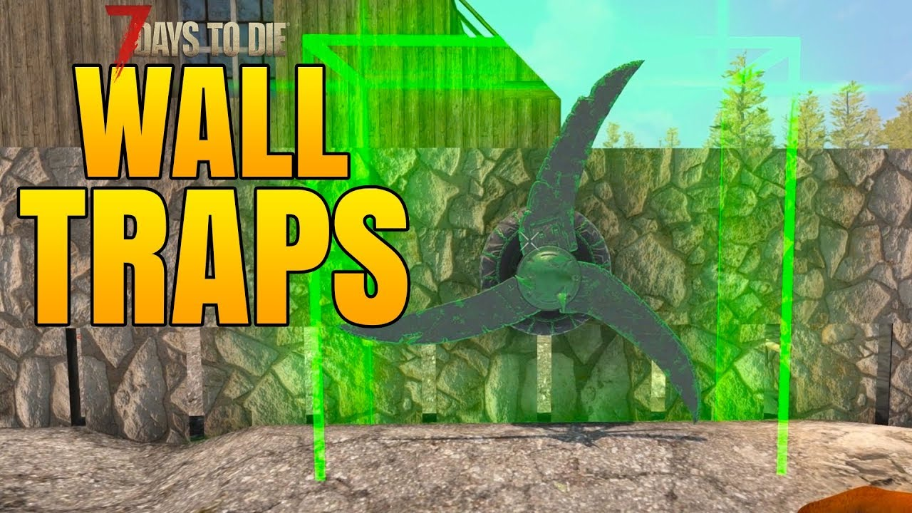 Wall Traps Before Day 14 7 Days To Die Alpha 16 Multiplayer Gameplay 16 Season 2