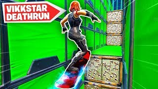 Download I made a DEATHRUN CHALLENGE in Fortnite! (Vikkstars Death Run) Mp3 and Videos