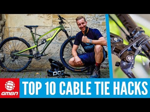 Top 10 Cables Tie Hacks and Bodges | Mountain Bike Maintenance