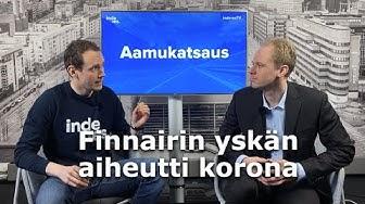 Finnairin yskän aiheutti korona