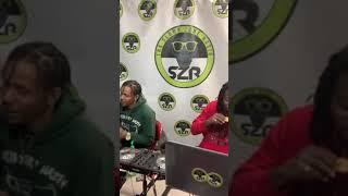 @KyiranFamous Freestyles at @ThaSlumpZoneRadio