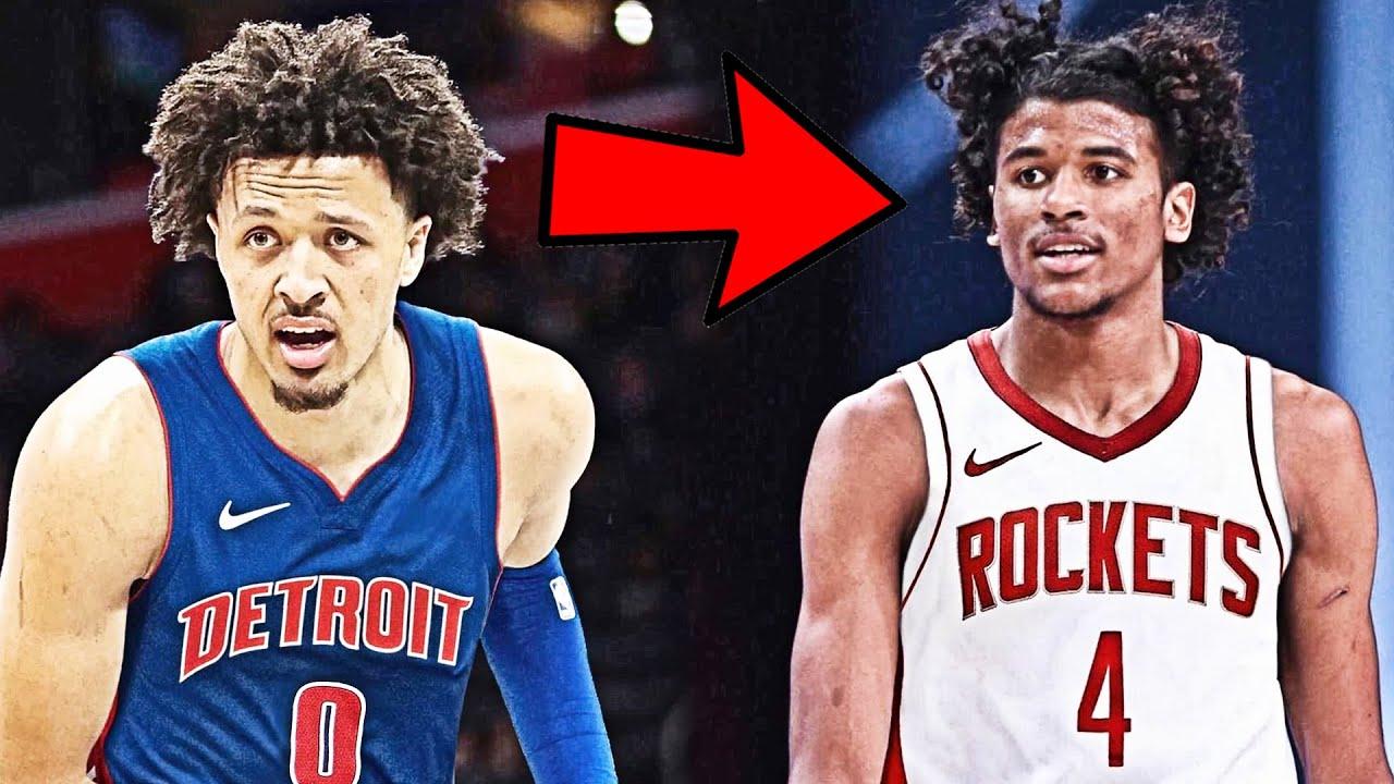 Detroit Pistons Select Cade Cunningham 1st in the 2021 NBA Draft Houston Rockets Pick Jalen Green