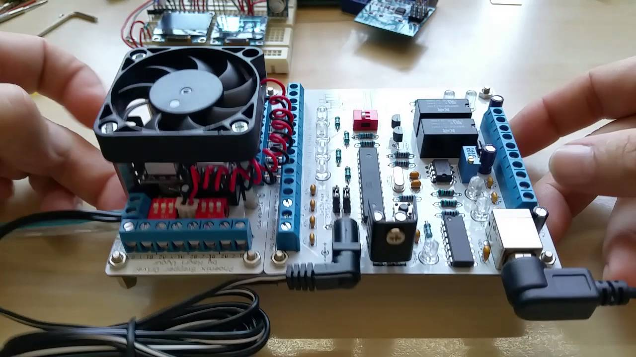 Phoenix CNC Controller and Stepper Driver by Hayri Uygur