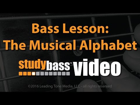 The Musical Alphabet Lesson & Exercises | StudyBass