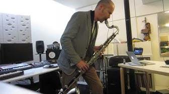 Tapani Rinne: #100guitarsfromHEL goes Bass Clarinet