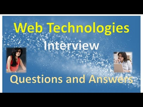 Web Technologies Interview Questions And Answers In HINDI