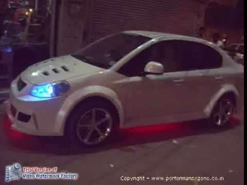 Wide Body Kit Car Modification Delhi Customisation Under Lights