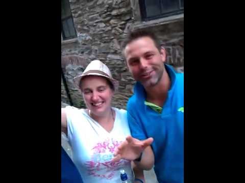 Jodie and justin Looe music festival 2014