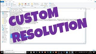 How To Get CUSTOM RESOLUTIONS IN FORTNITE! - Fortnite Competitive Settings - ErycTriceps Resolution