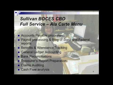Sullivan BOCES: Management Services Overview
