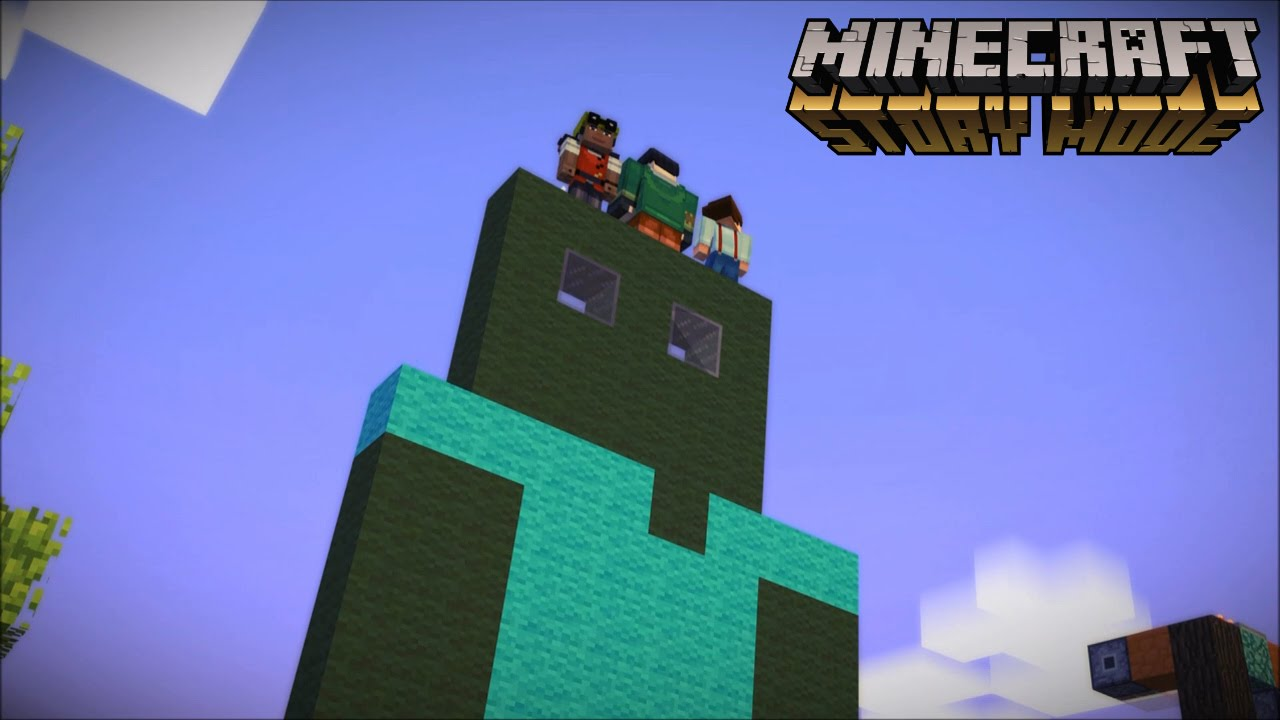 Minecraft story mode build battle 2 youtube for Zombie build