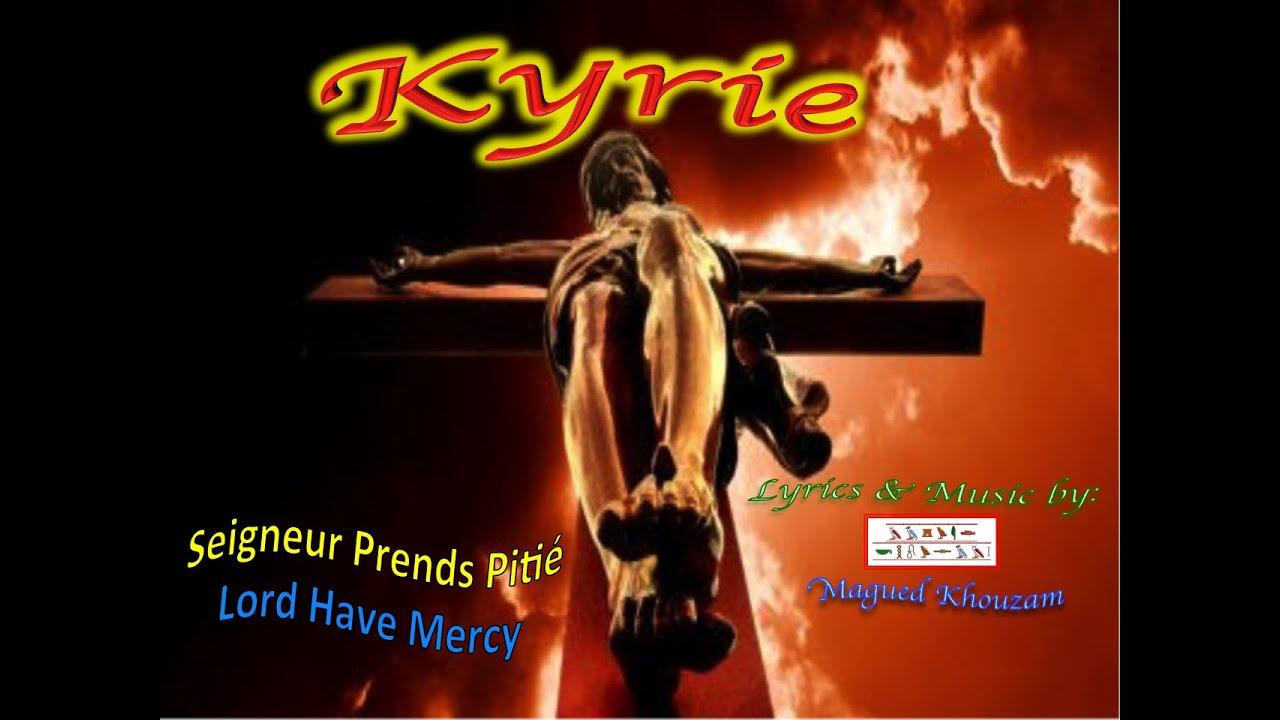 Kyrie Eleison Lord Have Mercy – Dibujos Para Colorear