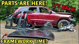 Rebuilding A Wrecked 2018 Jeep Trackhawk Part 7