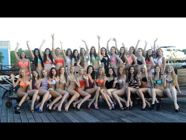 Участницы конкурса Мисс Москва 2015 готовятся к финалу
