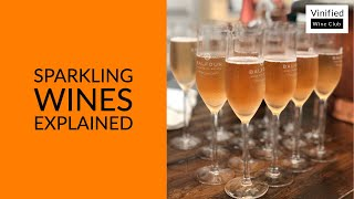Learn Wine in 1 Minute - Sparkling Wines - High Definition Short Lesson For Beginners