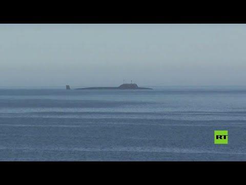 تدشين غواصة -كراسنويارسك- النووية الروسية