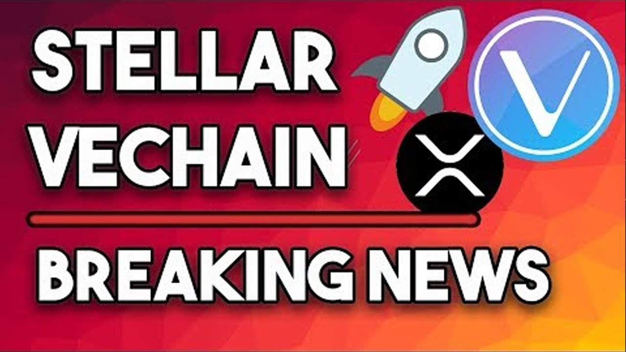 Daily Crypto News: Vechain HUGE Progress, Stellar XLM Massive Donations & Ripple XRP The Only Way? 20