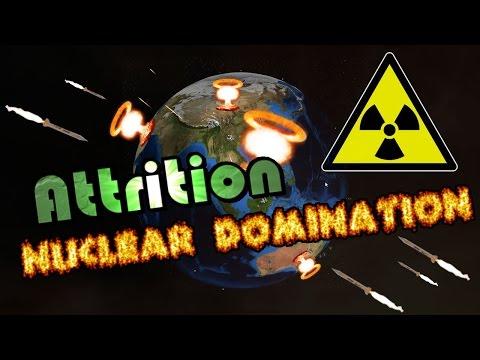 Attrition: Nuclear Domination - Quick Review & Basic Guide! Juegos de guerra!