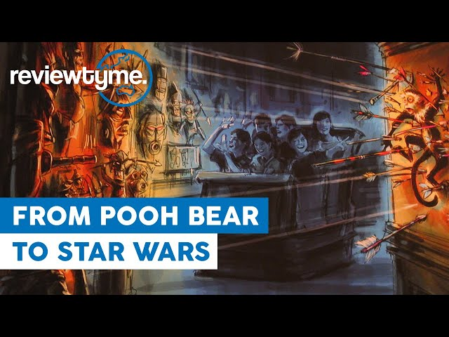 Pooh Bear to Star Wars - The Innovention of Disney's Trackless Dark Rides | HistoryTyme