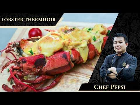 Stellar Restaurant- Lobster Thermidor