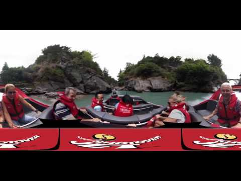 Shotover Jet, Queenstown, New Zealand - Virtual Reality 360° Experience