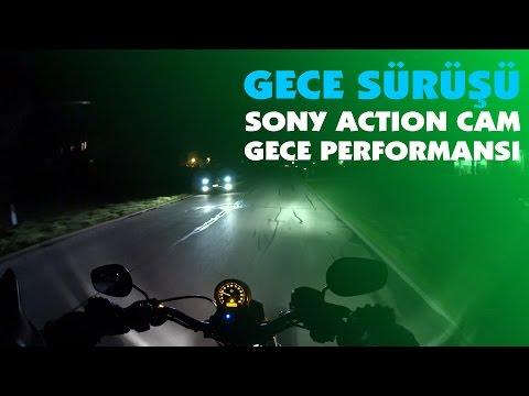 IkiTeker - Gece Sürüşü ve Sony Action Cam HDR-AS200 Gece Performansı