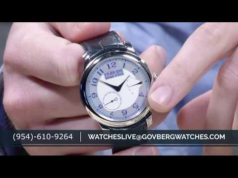 Watches Live: Audemars Piguet Watches, Jaeger LeCoultre Reverso -verload, FP Journe, Free Stuff!