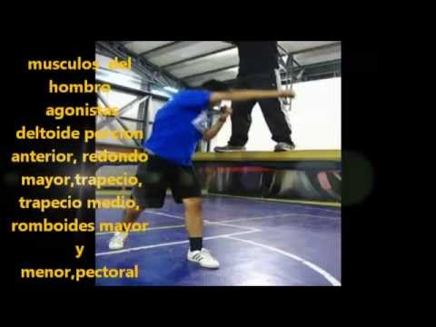 analisis biomecanico del golpe cruzado (boxeo) - YouTube