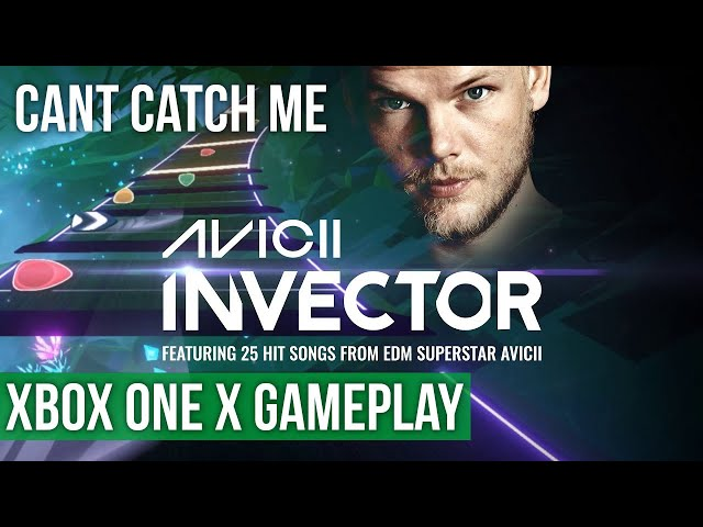 Avicii Invector - Can't Catch Me - Gameplay (Xbox One X) HD
