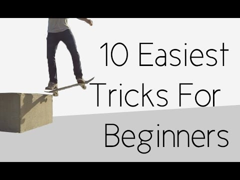 10 Easiest Beginner Skateboard Tricks