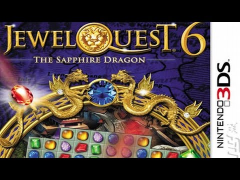 Jewel Quest The Sapphire Dragon Gameplay {Nintendo 3DS} {60 FPS} {1080p}