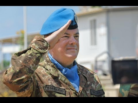 Major-General Stefano Del Col takes over command of UNIFIL