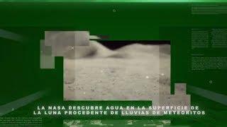 La NASA descubre agua en la superficie de la Luna