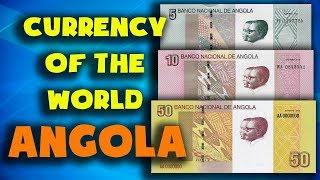 Currency of the world - Angola. Angolan kwanza. Exchange rates Angola.Angolan banknotes and coins
