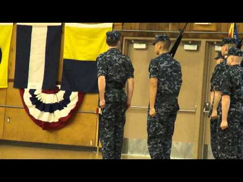 Ensign Christopher M. Payne, USN, Pass & Review Ceremony, OCS, Newport RI, 5/2/12