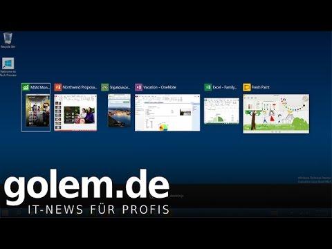 Windows 10 - erste kurze Vorschau