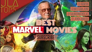 The Top 5 BEST Marvel Movies | Was Stan Lee ahead of his time? JLATop5