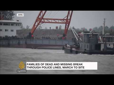 Maritime agency: Chinese capsized ship had record of safety violations