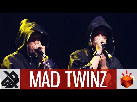 MAD TWINZ  |  Grand Beatbox TAG TEAM Battle 2016  |  Elimination