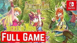 Collection of Mana [Switch] [Secret of Mana] - Gameplay Walkthrough [Full Game] - No Commentary