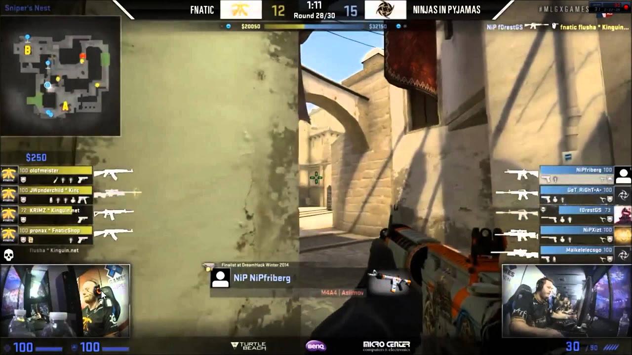 Fnatic vs NiP  Mirage  Final Round  Major League Gaming
