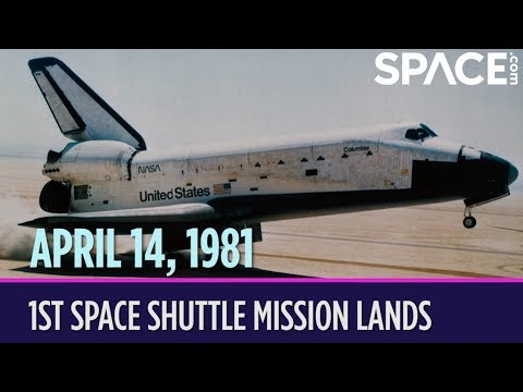 OTD in Space – April 14: 1st Space Shuttle Mission Lands