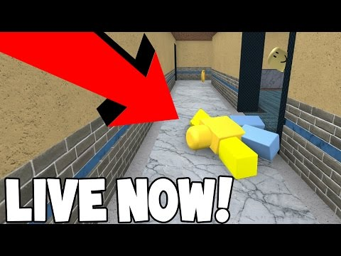 LIVE! - LOOKING FOR JOHN DOE in ROBLOX w/Subscribers! - COME JOIN ME!