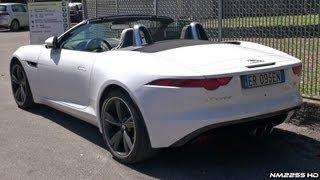Jaguar F-Type V6 S Start Up and Revs