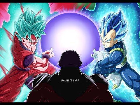 Drawing GOKU BLUE KAIOKEN & VEGETA BEYOND SUPER SAIYAN BLUE VS JIREN | Dragon Ball Super