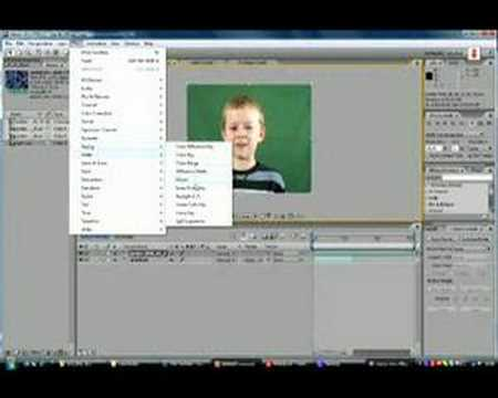 How to Chroma Key - Adobe After Effects CS3